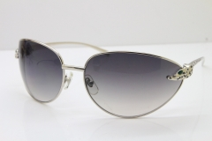 CARTIER Series Limited 1525/2000 Original Sunglasses In Silver Gray Lens