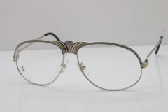 Cartier Crown Diamond 1112530 Original Eyeglasses In Silver