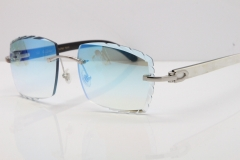 Silver Ice Blue Lens